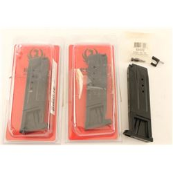 Lot of 3 Ruger SR9 Mags