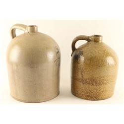 Lot of 2 Large Ceramic Jugs