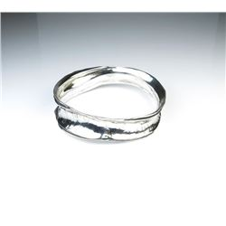 Beautiful Sterling Silver Bangle Bracelet