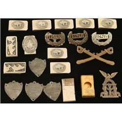 Lot of Vintage Money Clips