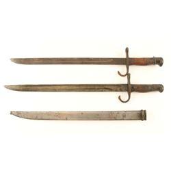 (2) Arisaka Bayonets