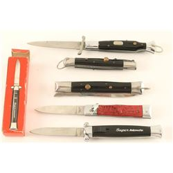 Lot of 5 Switchblades