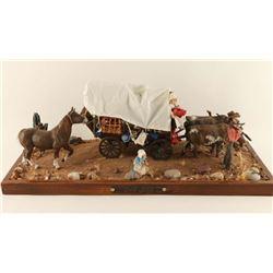 """""""Pioneer Life Arizona 1840"""" Diorama"""