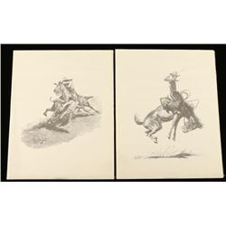 Lot of 11 Will James Prints