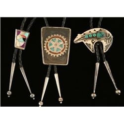 Lot of 3 Bolo Ties