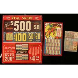 Vintage Punch Board Games
