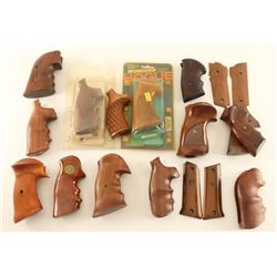 Large Lot of Aftermarket Wood Grips