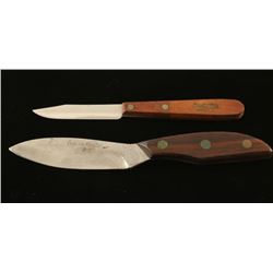 Lot of 2 Knives a Yukon Hunter Knife