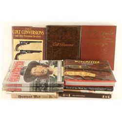 Lot of Colt & Winchester Books