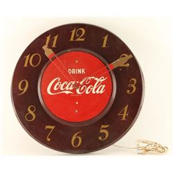 Original Coca Cola Clock