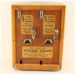 Vintage Postage Stamp Machine