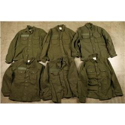Lot of US Army Cold weather shirts