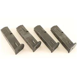 Lot of 4 Browning BDA 380 Mags