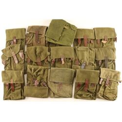 Large Lot of Military Pouches