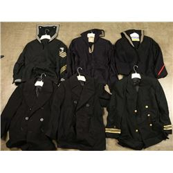 Lot of US Navy Uniforms