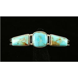 Turquoise Sterling Cuff Bracelet