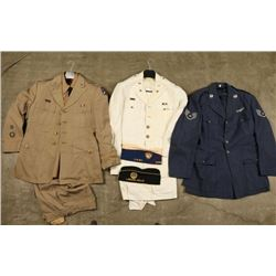 Lot of Us Army & Airforce Uniforms