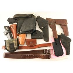 Lot of Gun Leather
