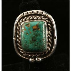 Turquoise Sterling Native American Ring