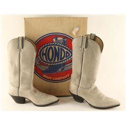 Pair of Hondo Cowboy Boots