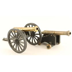Lot of 2 Miniature Cannons