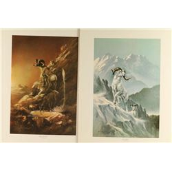 Lot of 4 Fine Art Prints