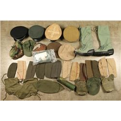 Large Lot of Military Accessories