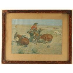Fine Art Print by Frederic Remington