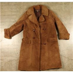 Mens Long Lambs Wool Coat