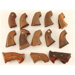 Lot of Wooden Grips