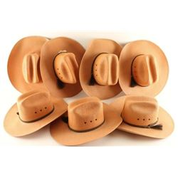 Lot of 7 Bailey Cowboy Hats
