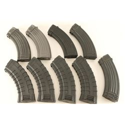Lot of 9 AK Mags