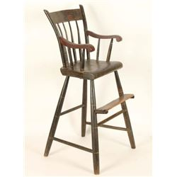 Early Antique High Chair