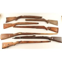 Lot of 10 Rifle Stocks