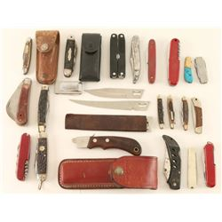 Large Lot of Pocket Knives