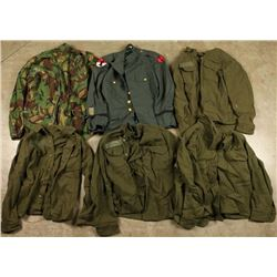 Lot of US Army Uniforms