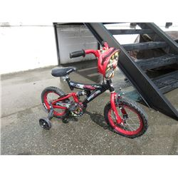 "Kids Disney Cars ""Drift Extreme"" Bike"