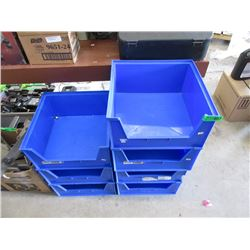 7 Stacking Storage Bins