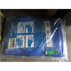 Western Rugged All Purpose Blue Tarp