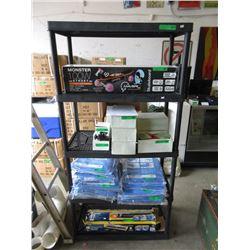 Plastic Shelf Unit - 3 Feet x 6 Feet