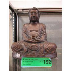 """10"""" Pottery Buddha Statue"""