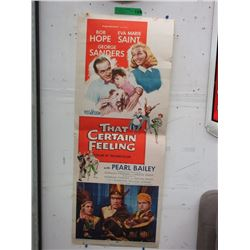"1956 ""That Certain Feeling"" Movie Lobby Poster"