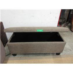 New Fabric Storage Bench