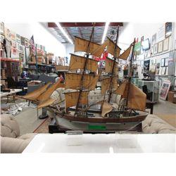 Wood Boat Model