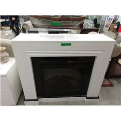 Electric Fireplace in Lacquered Surround