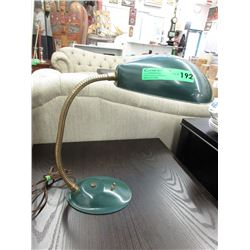 Mid-Century Cobra Gooseneck Desk Lamp - Working