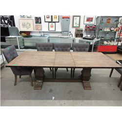 New LH Imports Dining Table with Leaf