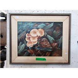 Signed Original Barbara Boldt Oil on Canvas