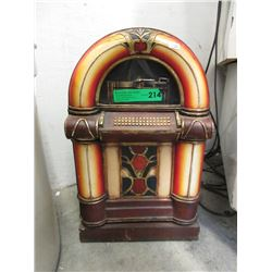 Small Juke Box Shaped Cabinet