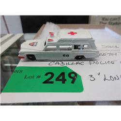 1971 Midge Toy Die-Cast Cadillac Police Ambulance